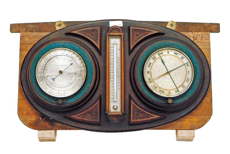 気圧・温度・湿度計(英国製)
