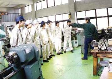 実習風景[Students in Traning Workshop]