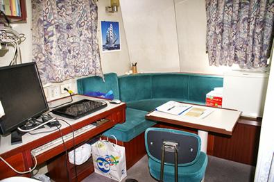 船・機長室